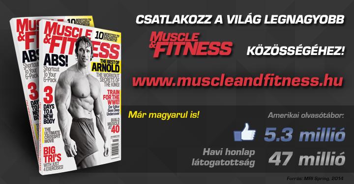 Muscle & Fitness Magyarországon!