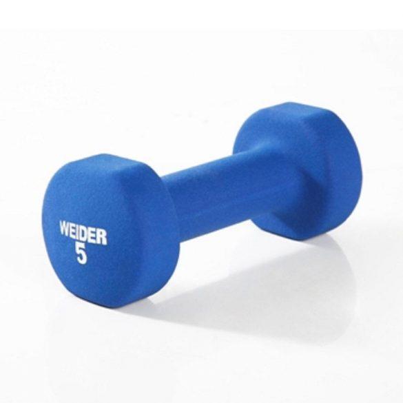 Weider Neoprén kézi súlyzó 5 kg/db