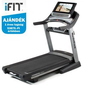 NordicTrack Commercial C2950 futópad  + ajándék iFIT tagság